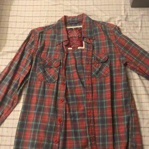 Super dry Button Up Shirt